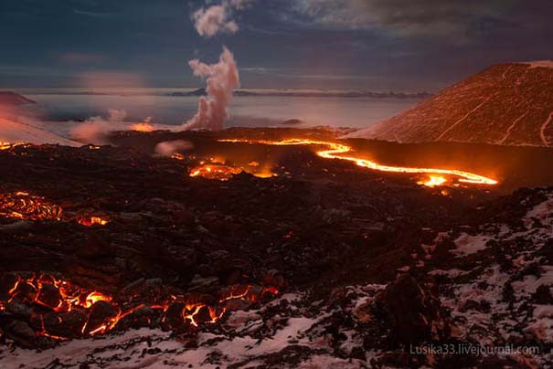 Φωτογραφίες από την καρδιά ενός ηφαιστείου που εκρήγνυται (4)