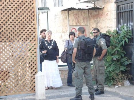itf forbids anyone else from coming inside al hakawati area