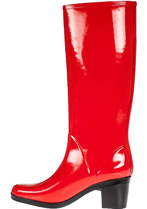 kate spade  york romi rain boot red rubber  red lyst