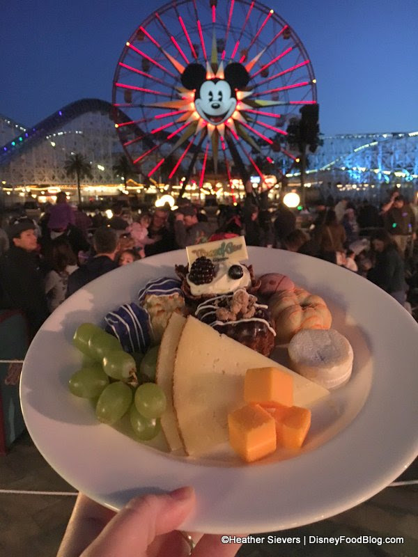 Dining in Disneyland Review: World of Color Dessert Party ...