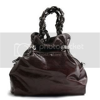 Brown Brielle Braided Mini Bag
