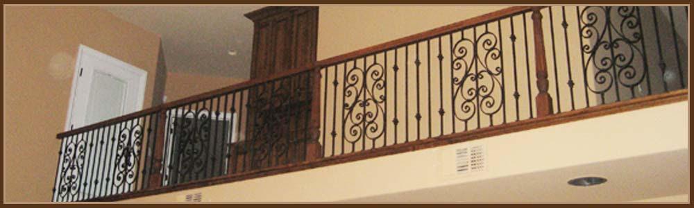 Interior Iron Railings Sacramento Staircase Balcony Railings
