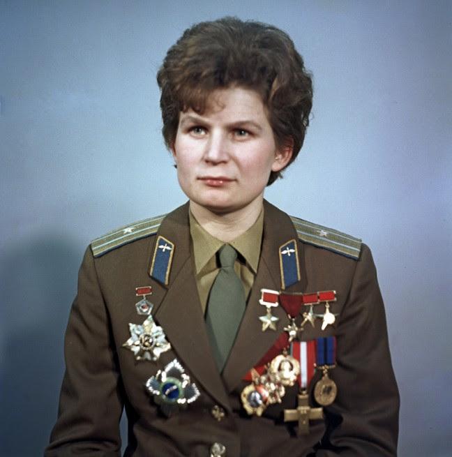 Soviet Union cosmonaut Valentina Tereshkova  Vostok 6 Photo Credit Ria Novosti posted on SpaceFlight Insider