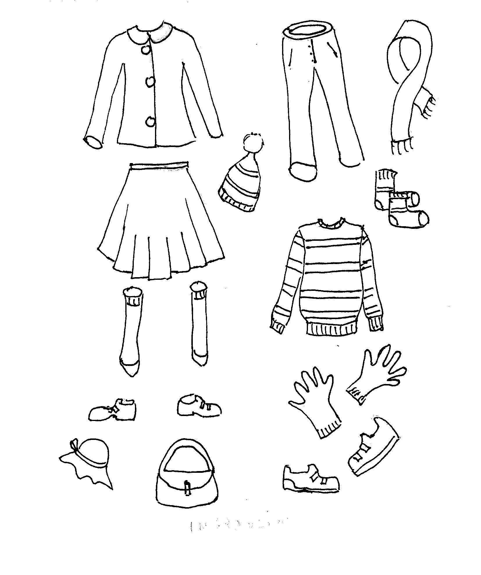 Vestiti Disegni Da Colorare I Bambini 34arcsj5lq