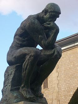 The Thinker (or Dante?) by Rodin