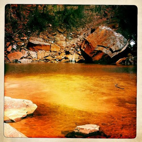 Zion - Upper Emerald Pools