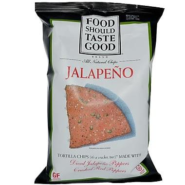 Food Should Taste Good Tortilla Chips Jalapeno, 8/Pack ...