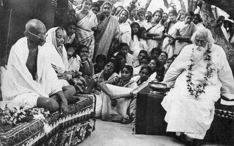 File:Gandhi-Tagore.jpg
