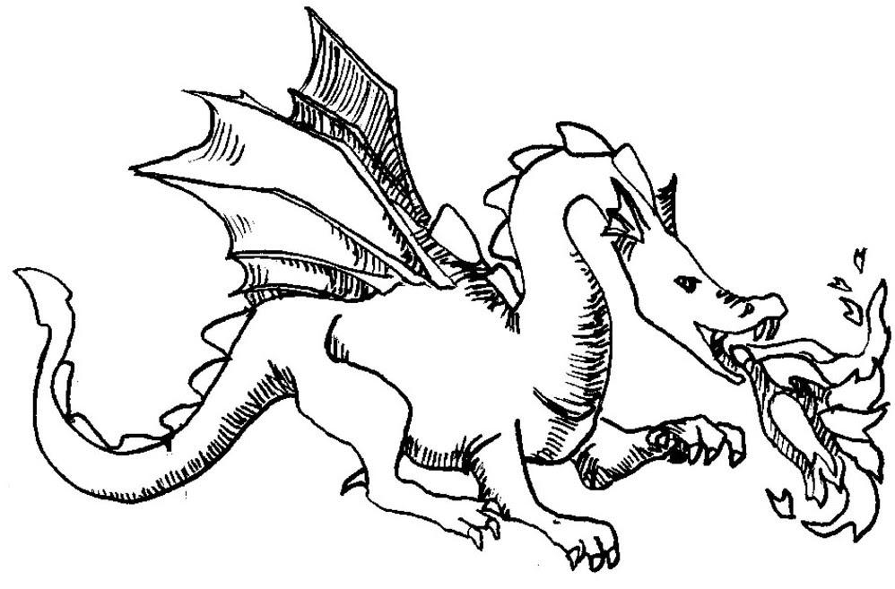 157 Dessins De Coloriage Dragon à Imprimer Sur Laguerchecom Page 14