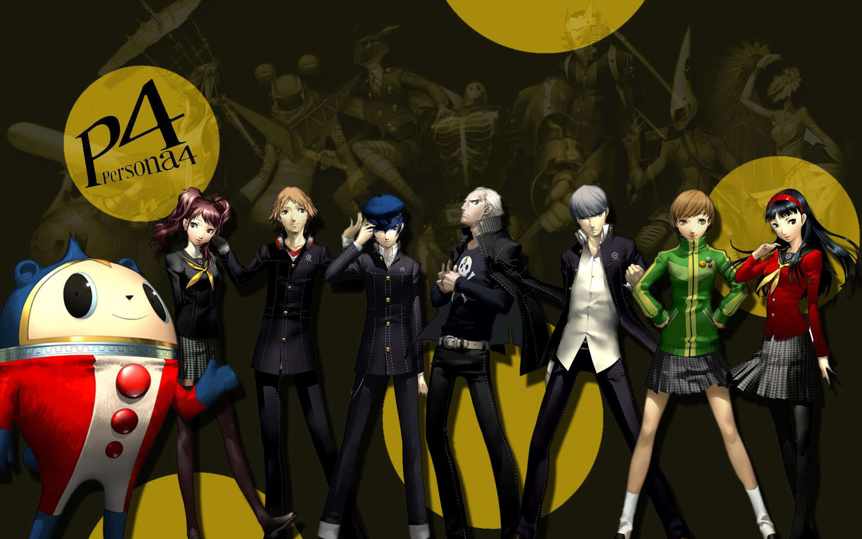 I Just Put The 壁紙 I Have P Persona 4 The Anime The