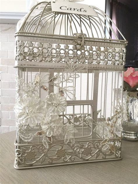 17 Best ideas about Birdcage Card Holders on Pinterest