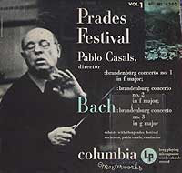 Pablo Casals conducts the Prades Festival Orchestra (Columbia LP cover)