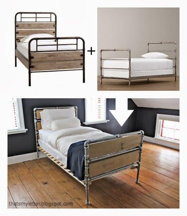 DIY Plumbing Pipe Bed Frame  Bob Vila
