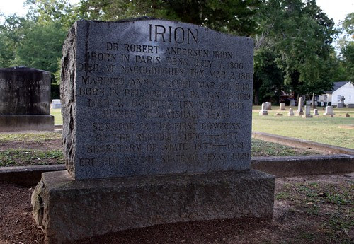 dr. robert anderson irion