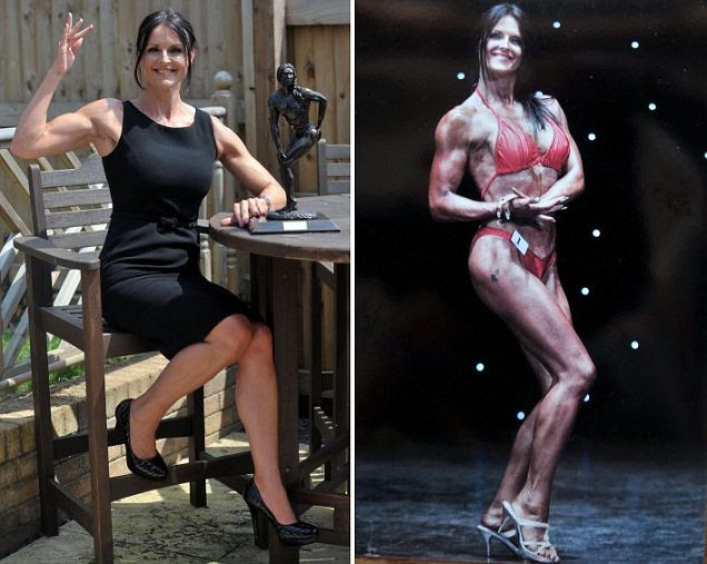 Mother-of-four Christina Chinnock has a demanding job as a barrister but has embarked on a new challenge as a body builder, and has just won her first competition.