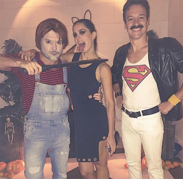 "Danilo Faro: ""O Chucky vai matar primeiro a Ariana Grande @veraviel e depois o Fred Mercury @rodrigofaro  #gimenezbday #farofamily """