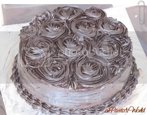 Chocolate Truffle Cake, visit paritaskitchen.blogspot.com for the recipe!