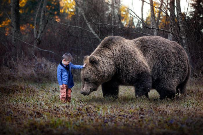 Невинность усмиряет зверя.