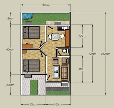 model rumah minimalis ukuran 60 meter - berbagai ukuran