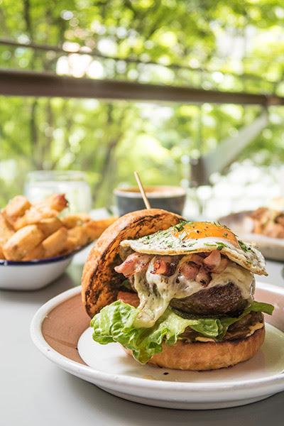 Bochinche Argentinian Brunch Chimichurri Burger