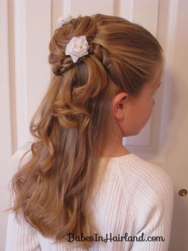 Acconciature per la Prima Comunione tante idee per bambine  - acconciature capelli bambina cerimonia