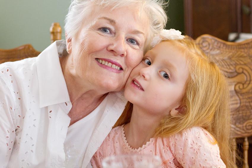grandma and abigail
