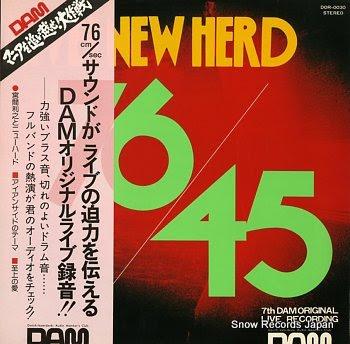 MIYAMA, YOSHIYUKI TO NEW HERD live new herd 76/45