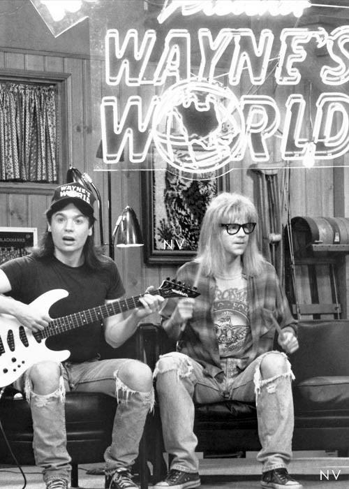 Wayne's World, party on, excellent