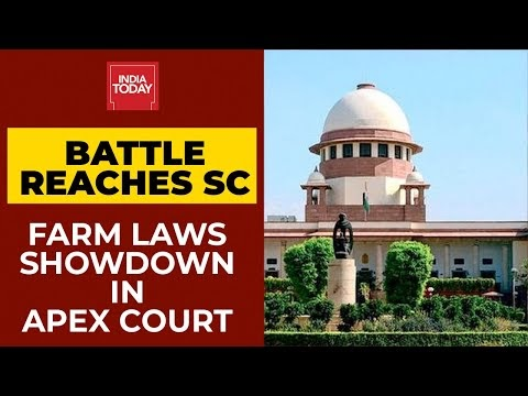 Supreme Court To Hear Plea Against Farmers' Protests Today
