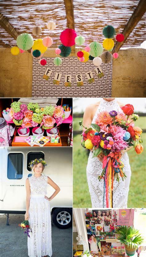 Colourful Fiesta Style Wedding Inspiration   Fiesta summer