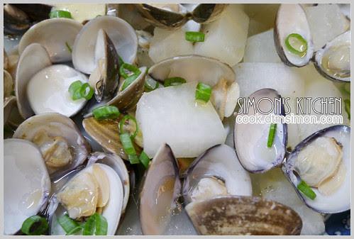 冬瓜蛤蜊酒炊07