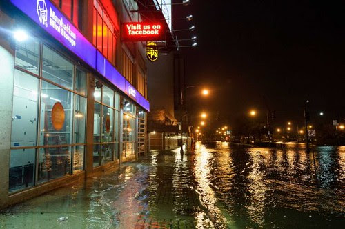 Sandy's impact on New York City has been devastating. The subway system is closed and Wall Street was shutdown for two days. by Pan-African News Wire File Photos