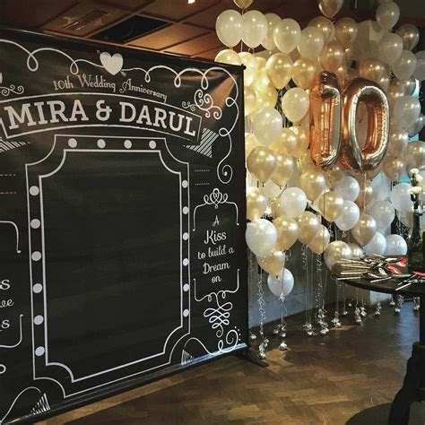10 Year Wedding Anniversary Party Ideas ? Wedding Ideas