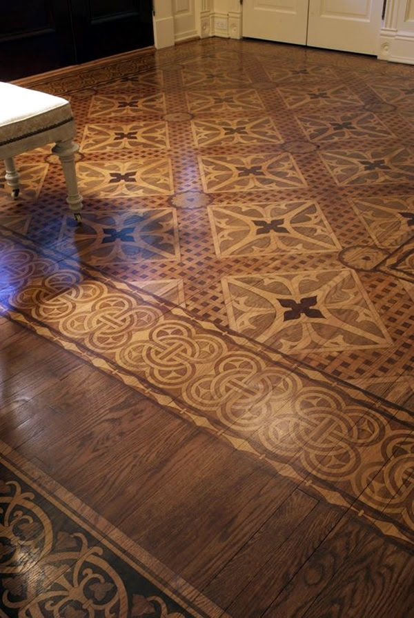 Creative Wood Floor Paint Decoration Art Works (26)
