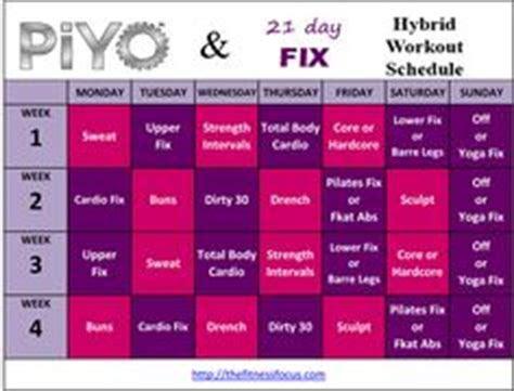 core de force meal plan week  workout schedule workout