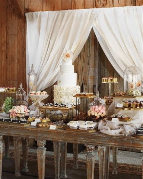 Delicious and Imaginative Dessert Tables   Chic Vintage