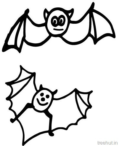 4700 Coloring Pages Of Cute Bats  Images