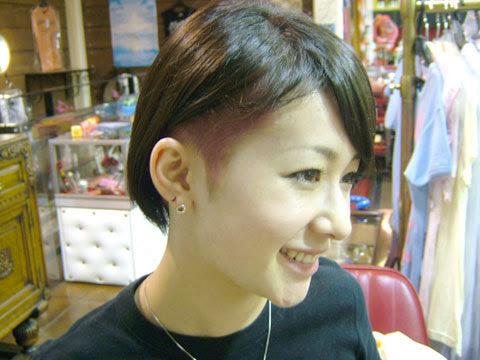 ヘアカタログ 刈り上げ 女性 - ヘアスタイル・髪型・ヘアカタログ(ベリーショート)|ホットペッパー