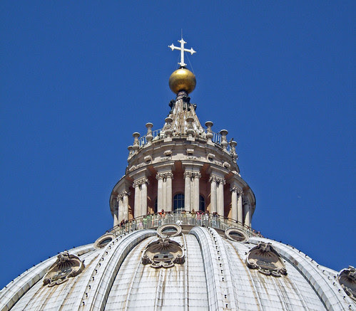 Cúpula de San Pedro, Roma, Italia, by jmhdezhdez