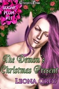 Sugarplum: The Demon's Christmas Present by Leona  Grey