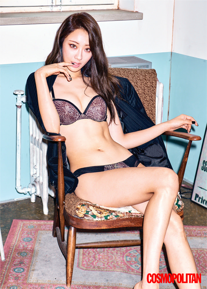 Kyungri (Nine Muses) - Cosmopolitan Magazine November Issue '16