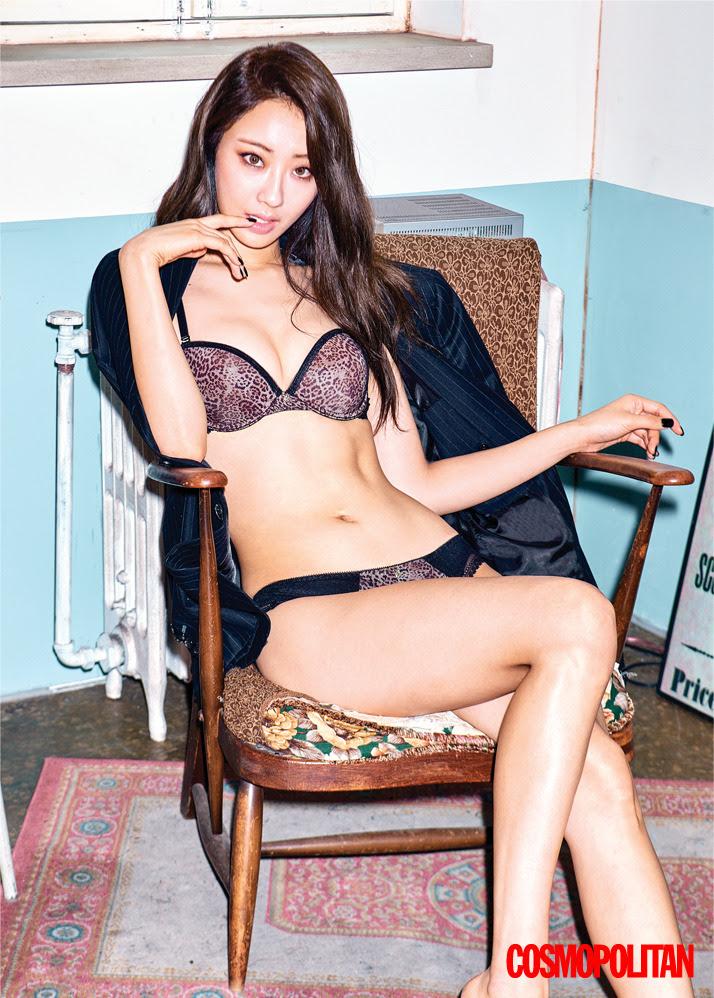 Kyungri (Nine Muses) - Cosmopolitan Magazine November Issue '16