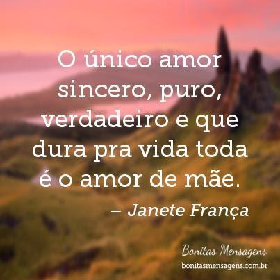 O Unico Amor Sincero Puro Verdadeiro E Que Dura Pra Vida Toda E O