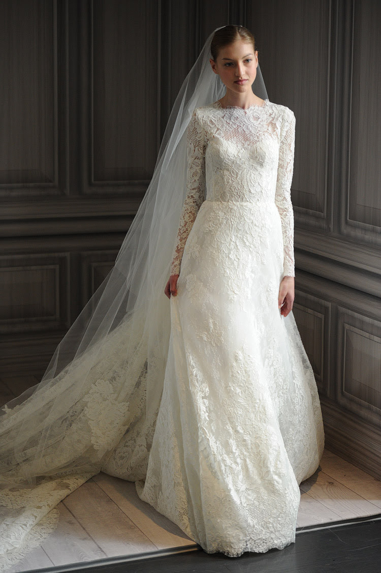 Lovely Long-Sleeved Wedding Dresses | A Batty Life