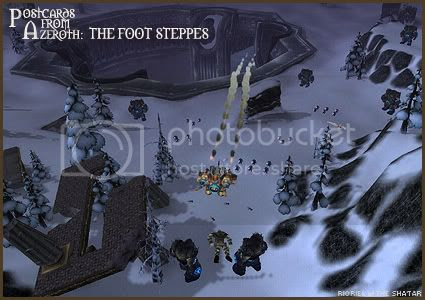 Postcards of Azeroth: The Foot Steppes, by Rioriel Ail'thera