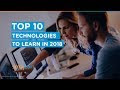 Top 8 Technology Trends for 2019 and the Jobs They do