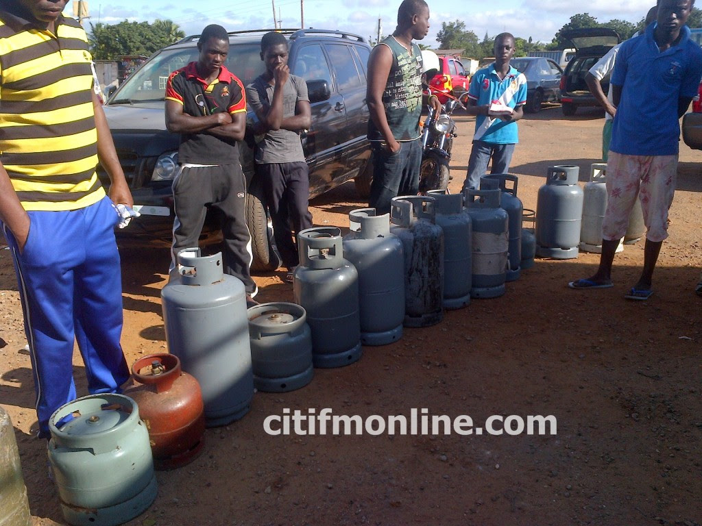 shortage of gas accra1