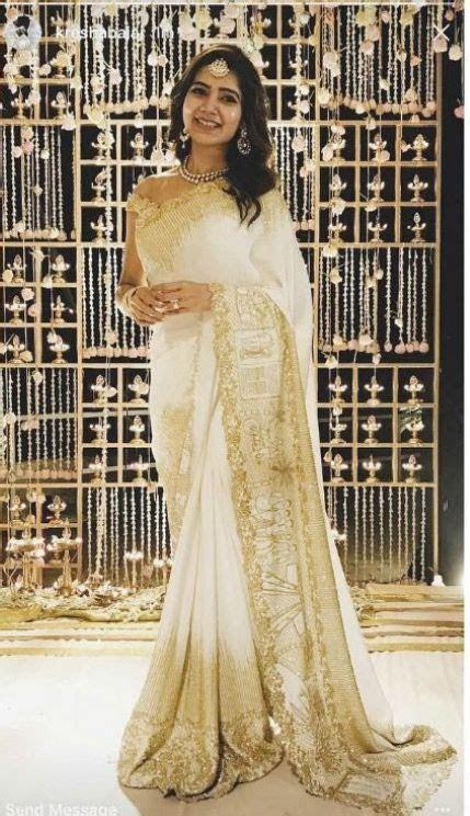 Samantha Ruth Prabhu Engagement Saree   Bridal in 2019