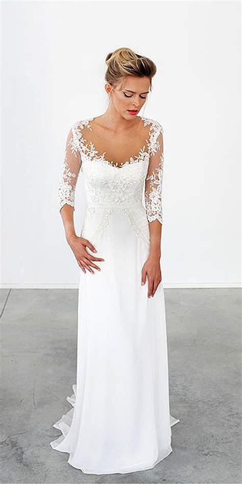 Trubridal Wedding Blog   18 Simple Wedding Dresses For