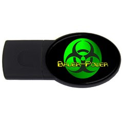 Bauer-Power 4GB Encrypted USB Drive
